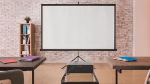 Audio visual setup installed by an AV integrator
