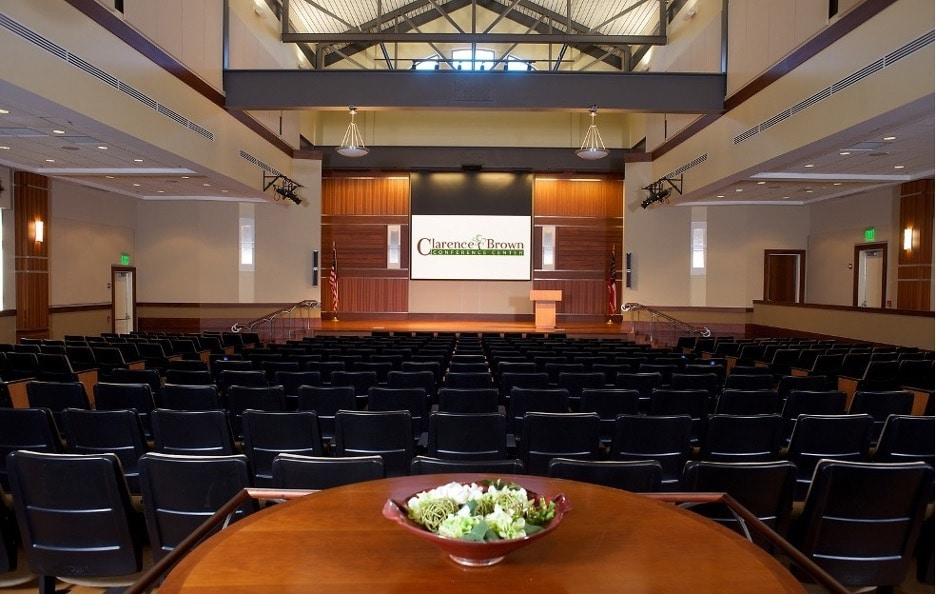 photo of Clarence Brown conference center designed by AGT