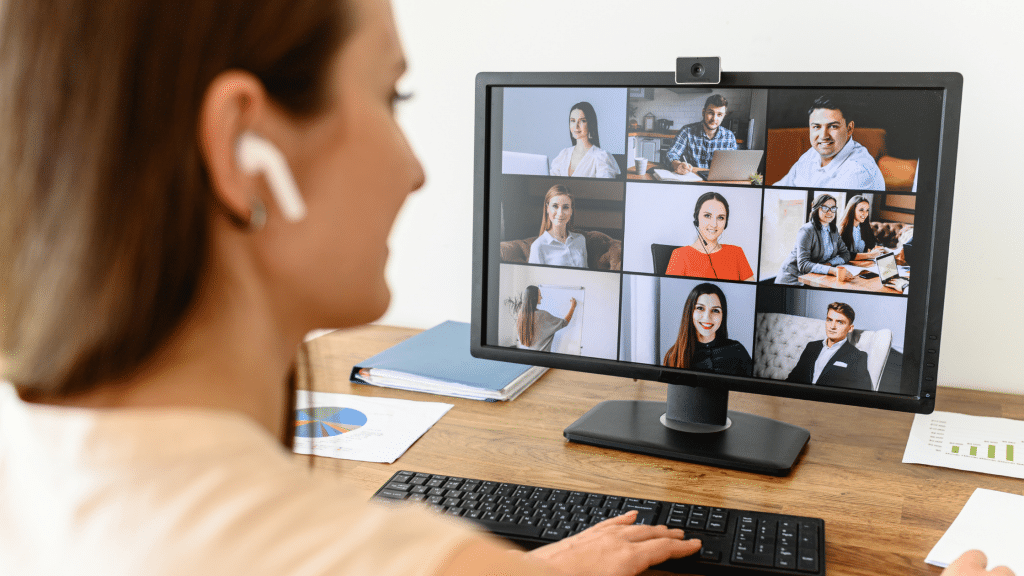 video collaboration in use