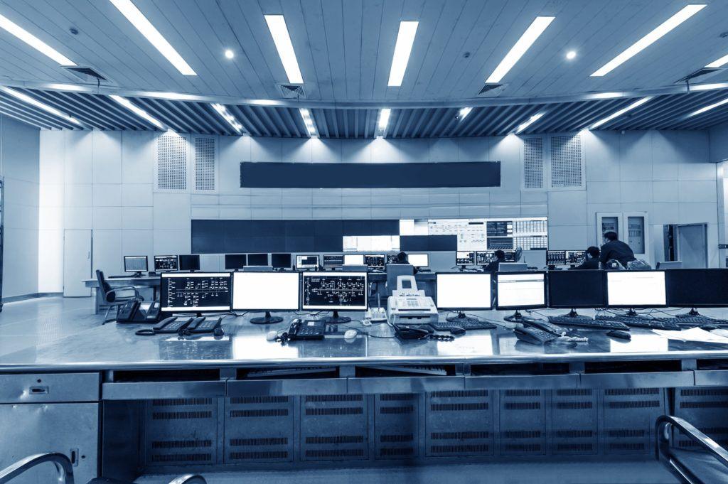 Monochrome Command Control Center